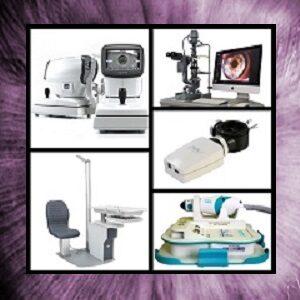 Equipamiento y recambios para Gabinete oftalmológico