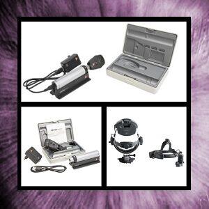 Retinoscopios-Oftalmoscopios para Gabinete Oftalmológico