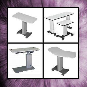 Mesas Elevadoras para Gabinete Oftalmológico